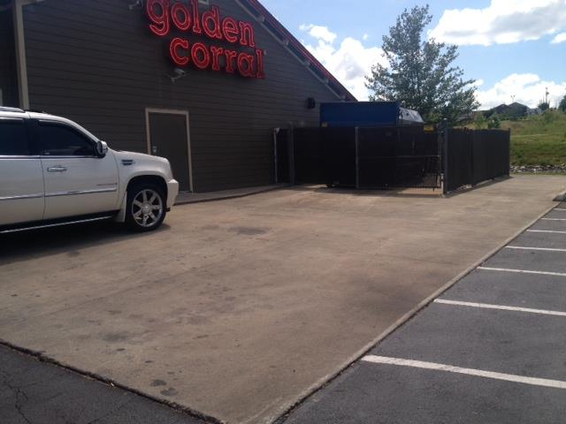 Commercial Cleaning at Golden Corral