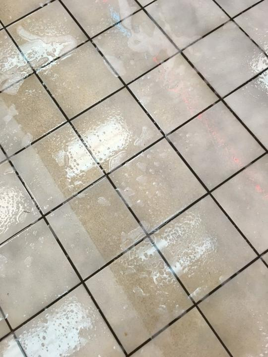 Shell Gas Station Floor Care